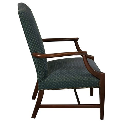 st timothy traditional used side chair blue pattern