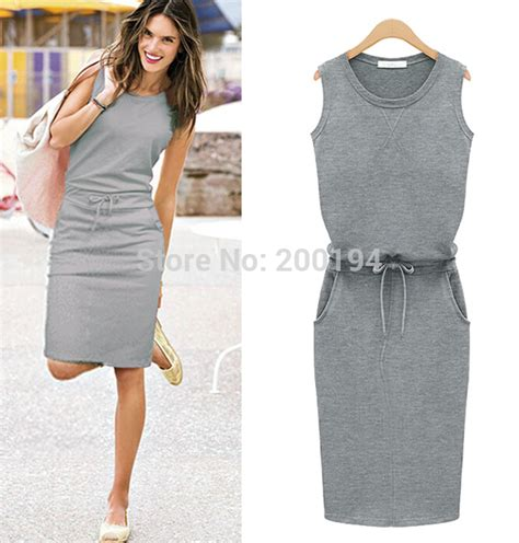 free shipping women casual dresses lady summer dress plus