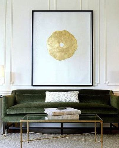 Living Room Gold Sofa Green Velvet Sofa Contemporary Living Room