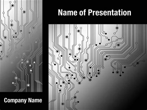 circuit card template circuit board texture powerpoint templates circuit board