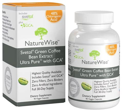 Info Green Coffee weight loss ลดความอ วน naturewise svetol green coffee bean extract ultra with gca