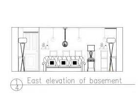 Living Room Hike Elevation Toronto House Elevation K Design
