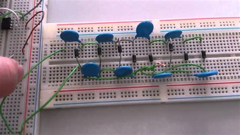breadboard circuit taser 555 stun gun