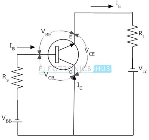 transistor lifier common base transistor configuration common base collector and emitter