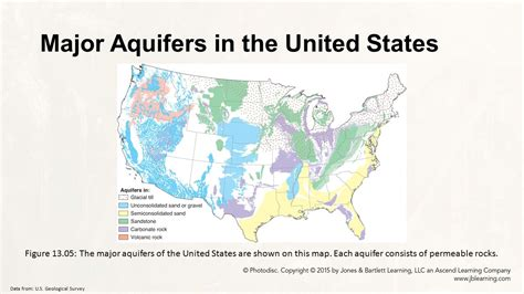 united states aquifer map chapter 13 dynamic earth eric h christiansen ppt