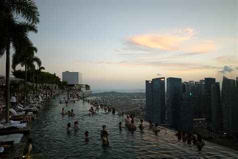 marina bay sands infinity pool entrance fee two days in singapore