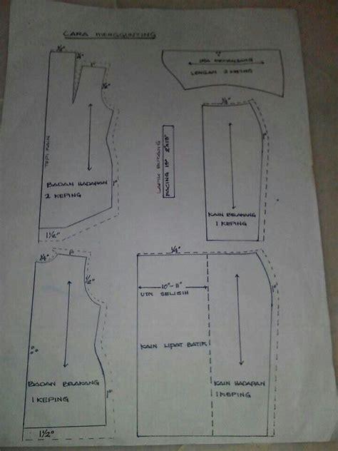 sewing pattern baju kurung kebaya on pinterest