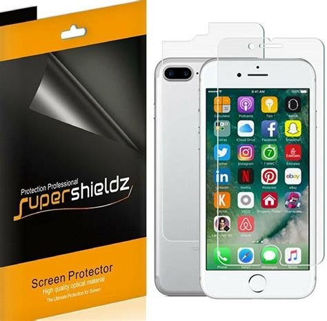 supershieldz 3 front 3 back clear screen protector for iphone 7 plus ebay