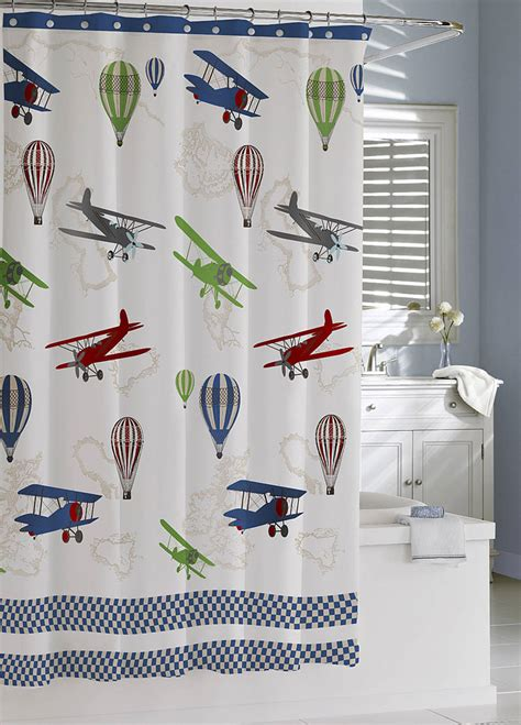 airplane curtains curtains ideas 187 airplane shower curtain inspiring