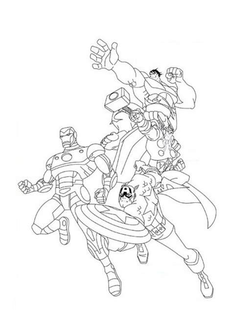 dessins de coloriage avengers  imprimer sur laguerche