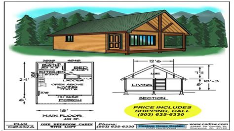cabin plans 123 sales drawing c0432a cabin plans 123 mexzhouse com
