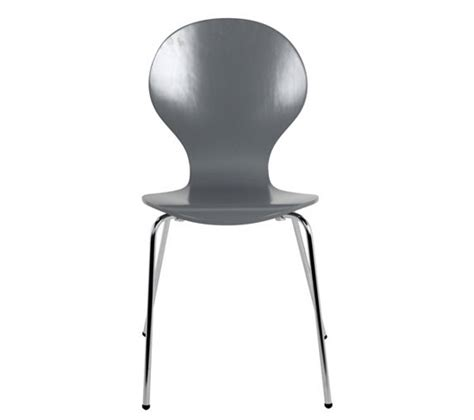 chaise spoon chaise spoon 2 gris chaises but