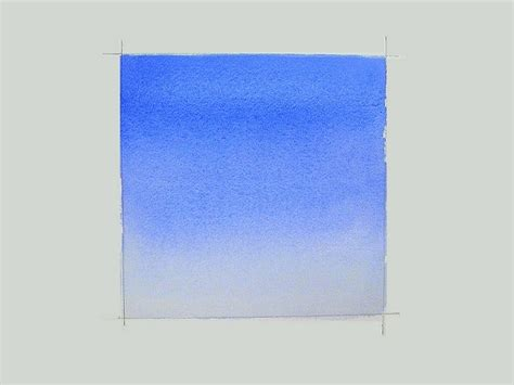 watercolor wash tutorial painting a graded watercolor wash this site has a lot of