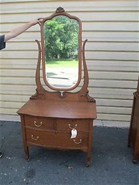 antique dresser with mirror and towel bar antique solid oak washstand commode dresser w mirror