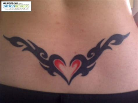 heartbeat tattoo on the back back tattoos and designs page 8