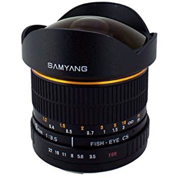 Samyang 8mm F3 5 For Canon samyang sy8m c 8mm f3 5 lens for canon