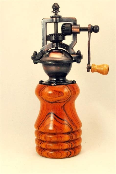 Handcrafted Pepper Mill - 200 best images about vintage steunk style pepper