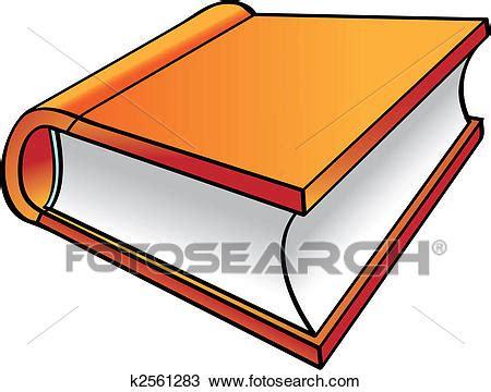 clipart libri clipart arancia libro cartone animato k2561283 cerca
