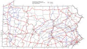 the us highway system and numbering the pennsylvania