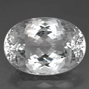 White Brazil Topaz Oval topaz 80 9ct oval from brazil and untreated gemstone