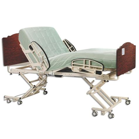 full electric hospital bed medline alterra full electric hi low hospital bed