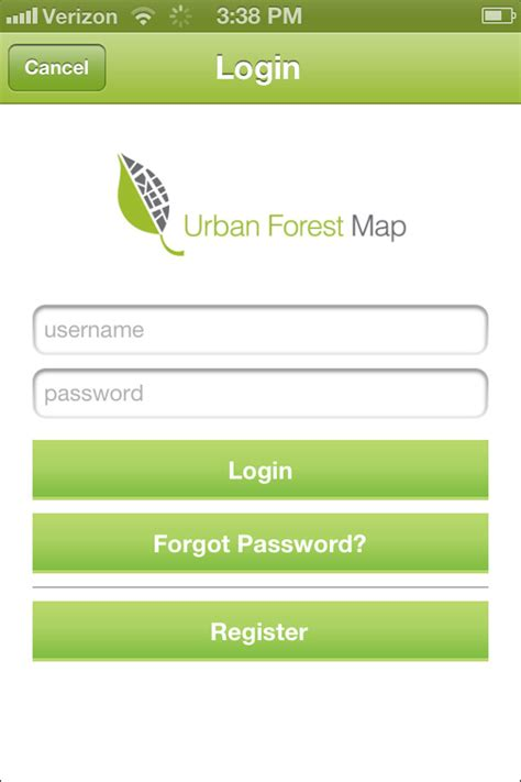 map login forest map app login page jpg 610 215 915 color code great logo ux