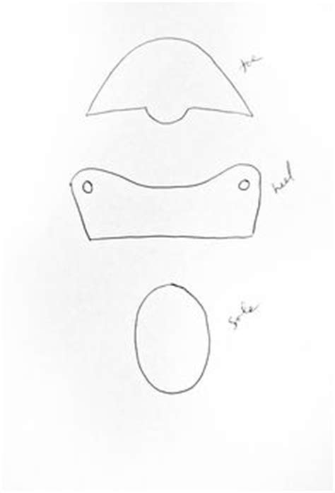 fondant baby bootie template sketches patterns