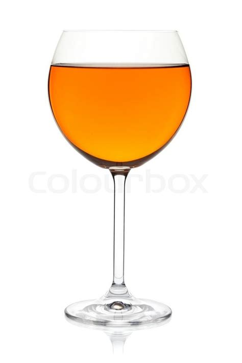 Murah Gelas Cold Drink Glassware Color orange color drink in wine glass isolated on white background stock photo colourbox