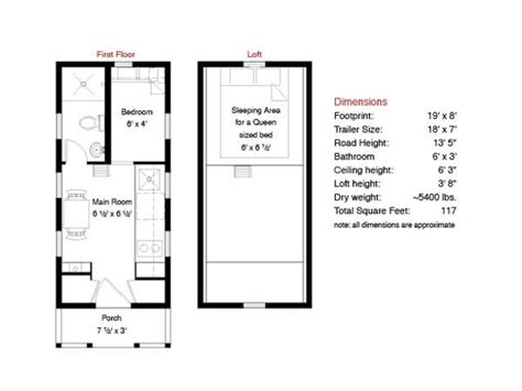 Free Tiny House Floor Plans 500 Sq Ft Tiny House Floor Tiny House Layout Plan