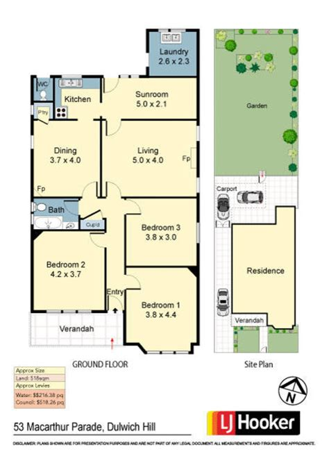 Treasure Trove Floor Plan 53 macarthur parade dulwich hill nsw 2203 squiiz com au