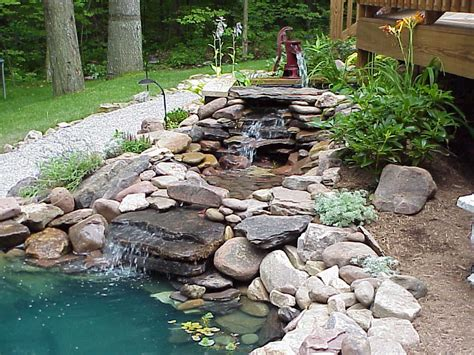 Garden Pond Ideas Home Garden Ponds Interior Design And Deco