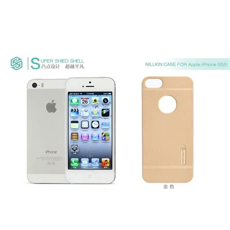 Nillkin Frosted Shield Apple Iphone 5 5s Brown nillkin frosted shield for apple iphone 5 5s se brown jakartanotebook