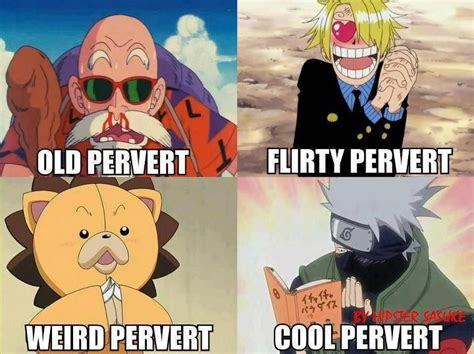 Funny Anime Meme - funny naruto meme manga memes every anime has their pervert