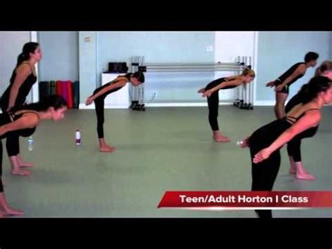 tutorial dance contemporary laredo school of contemporary dance beginner horton class