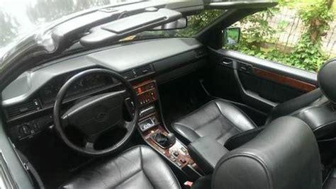 1993 mercedes benz 300ce 24 cabriolet 5 speed manual german cars for sale blog