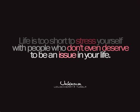 Don T Be Stressed Words To Live By Pinterest - daily quotes life is too short to stress yourself with