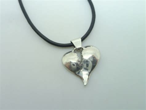 broken pendant with bail contemporary jewelry by
