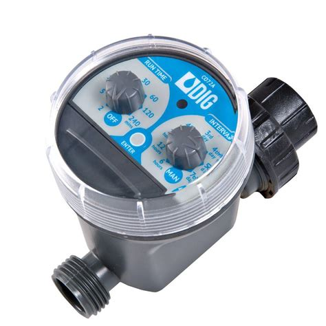 battery operated fan with timer dig 2 dial battery operated hose end timer co72a the