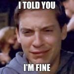 Tobey Meme - tobey maguire crying meme generator imgflip