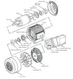 Electric Car Motor Draw Electric Motor Drawing