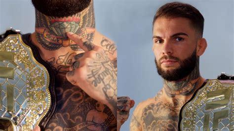 watch tattoo tour cody garbrandt explains his tattoos