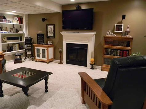 basement basement decorating ideas  men home