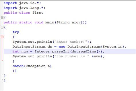 java tutorial user input getting input from user in java