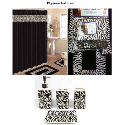 zebra print bathroom ideas pink and black zebra bathroom sets bathroom design ideas
