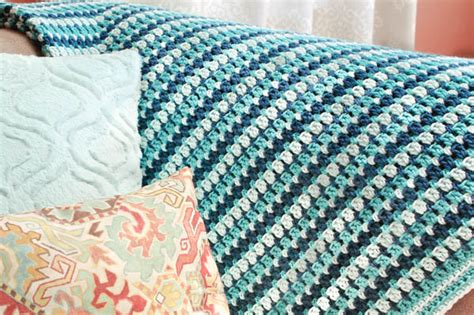 sea glass crochet afghan pattern petals to picots
