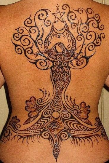 mother earth tattoo of the earth henna ideas pickers