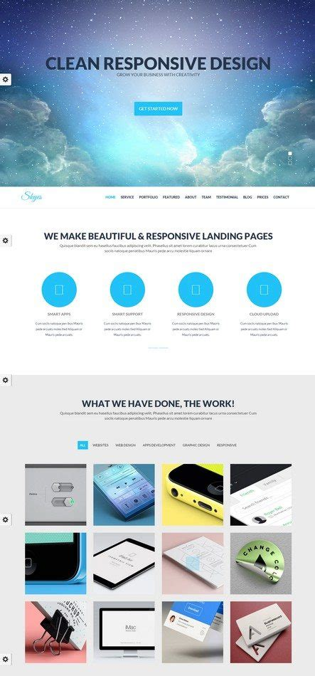 28 parallax html5 templates to create scrolling website