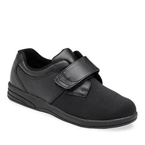 p w minor s diabetic shoes black calf 7 4e us
