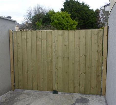 shiplap gate wooden gates galway ireland