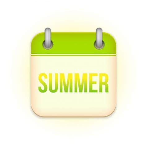 Calendario De Verano Dise 241 O De Calendario De Verano Descargar Vectores Gratis